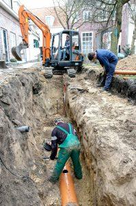 Grondwerker wegenbouw